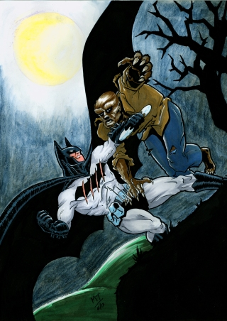 Batman vs. the Wolfman