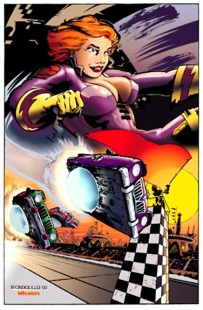 Chassis Image Comics: My 1st Published Colors