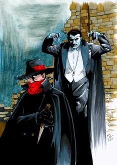 The Shadow vs. Dracula