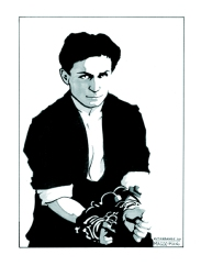 Portrait of Harry Houdini