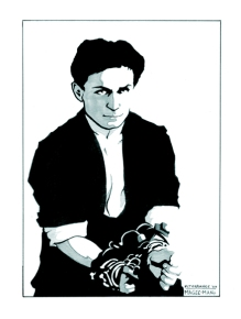 Portrait of Harry Houdini