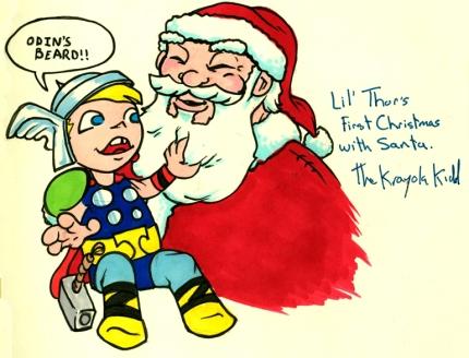 Thor's first Christmas