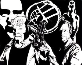 Hellboy meets Frank Black