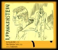 Mini Moleskine- I, Frankenstein