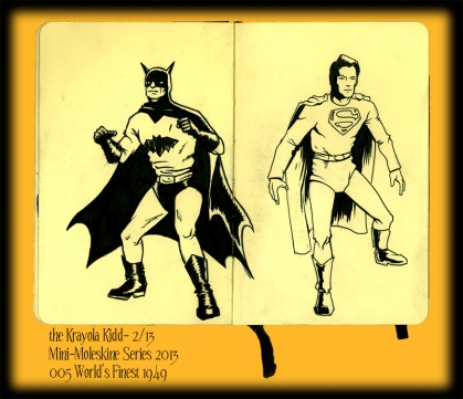 Mini Moleskine- World's Finest 1949