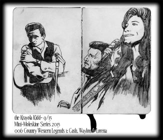 Mini Moleskine- Cash, Jennings and Lynn