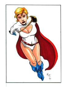 JSA- Power Girl