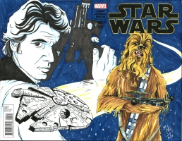 Star Wars- Han and Chewie