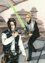 Star Wars- Luke and Han