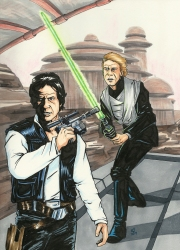 Star Wars- Luke and Han