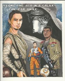 Star War- The Force Awakens