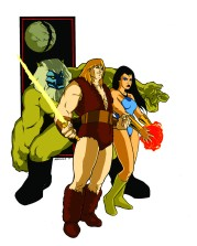 Thundarr the Barbarian- art by Garry McKee II
