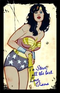 Katy Perry as Wonder Woman