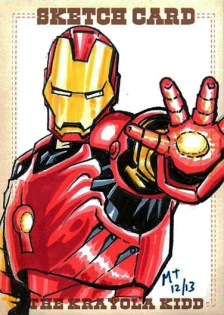 IronMan Sketch Card