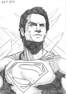 Man of Steel Sketch-1