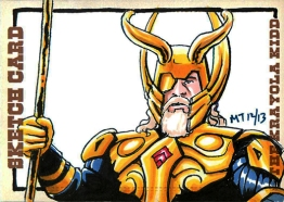 Odin Sketch card