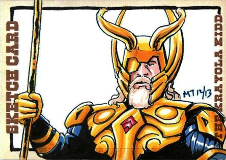 Odin Sketch card