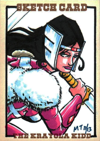 Sif Sketch Card