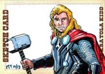 ThorMovie Sketch Card