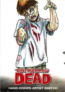 TWD 010 Zombie Wesley