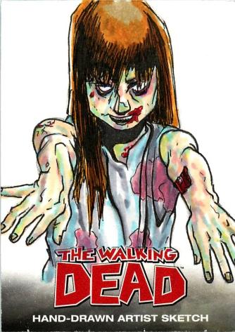 TWD 011 Zombie Rachel