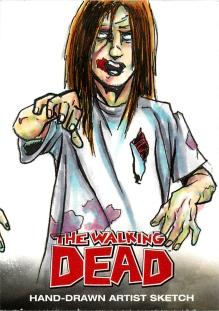 TWD 012 Zombie Evan