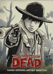 TWD Sketch Card- Carl